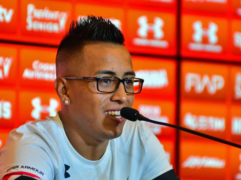 Überragender Akteur gegen Argentinien: Perus Christian Cueva.