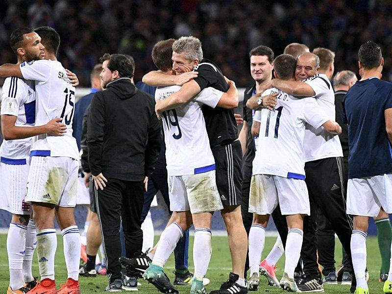 Belgien für WM qualifiziert, Blamage für Frankreich