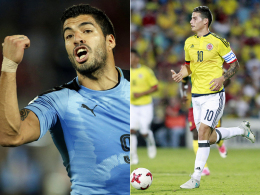 Messi einsam - Volles Risiko mit James und Suarez?