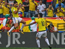 James im Alu-Pech bei Kolumbiens Remis gegen Brasilien