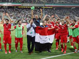 Rückkehrer Al-Soma sorgt für syrische Freudentränen