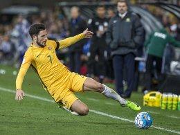 LIVE! Kruses Treffer reicht Australien nicht zum Sieg