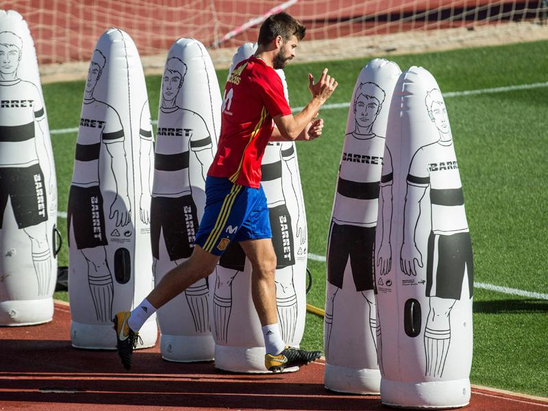 WM-Qualifikation: Eigene Fans attackieren Gerard Pique -