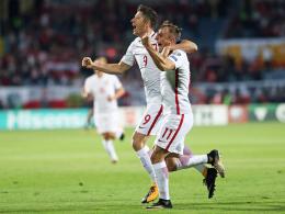 England hat's geschafft - Lewandowskis Rekorde