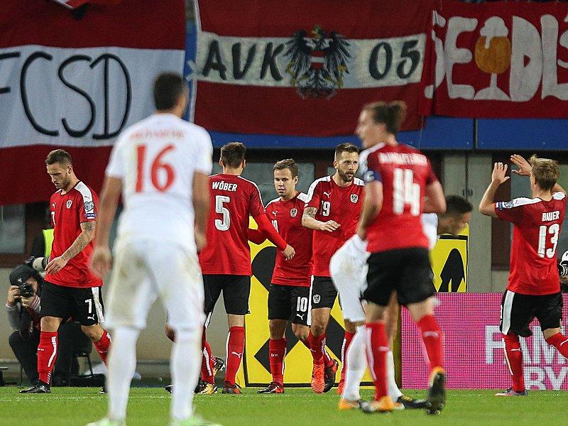 Österreich ohne Ilsanker und Dragovic in Moldau