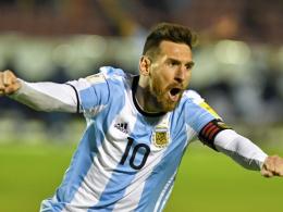 Messi schießt Argentinien zur WM - Schock für Chile