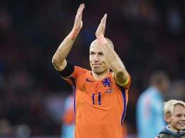 Robben beendet Karriere in der Elftal