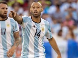 Nationalelf: Mascherano macht nach der WM Schluss
