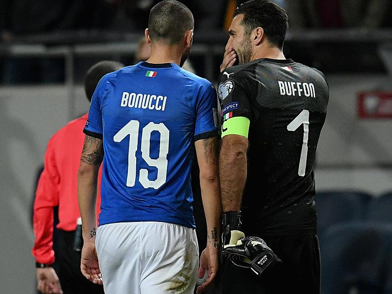 Leonardo Bonucci und Gianluigi Buffon