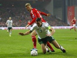 Viel Kampf, keine Tore - Irland trotzt Dänemark