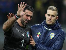 Abschied mit Tränen: Buffon sagt bei den Azzurri