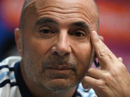 DFB-Team für Argentiniens Coach Sampaoli kein WM-Favorit