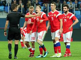 Heftiger Absturz in der Weltrangliste: WM-Gastgeber Russland.