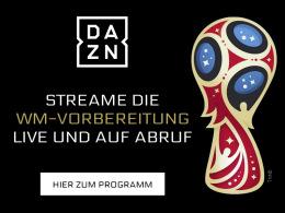Spiele der WM-Vorbereitung - live und auf Abruf bei DAZN