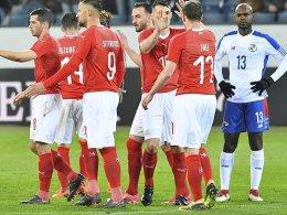 Dank Bundesliga-Profis: Schweiz furios!