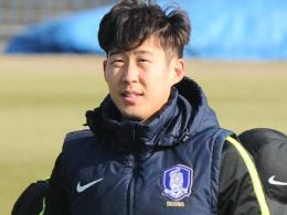 Südkoreas vorläufiger WM-Kader mit Son und Koo