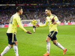 Kolumbien baut auf James und Falcao
