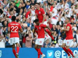 LIVE! England führt: Rashford trifft sensationell