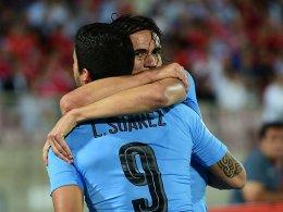 Mit Biss und ohne Biss: Uruguay strebt auf