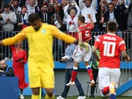 Bilder: Pechvogel Dzagoev bringt Cheryshev ins Spiel