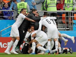 Uruguay ohne Glanz und Gloria - aber mit Erfolg