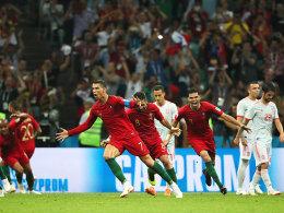 Dreierpack Ronaldo! Fulminantes 3:3 zwischen Portugal und Spanien!