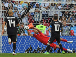 Island überrascht Argentinien - Messi zeigt Nerven