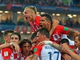 Nigeria harmlos - Kroatien mit Auftaktsieg Erster