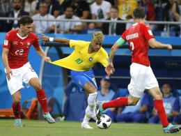 Neymars Foul-Frust - Miranda erinnert an strauchelnde Favoriten