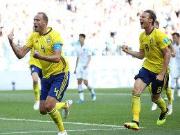 Schweden schlägt Südkorea dank Videobeweis