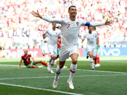 Ronaldos frühes Tor reicht Portugal gegen starkes Marokko