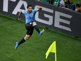 Suarez sei Dank: Uruguay und Russland im Achtelfinale