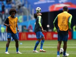 LIVE! Neymar ist fit: Brasilien will den ersten Sieg