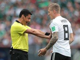 Großzügige Spielleitung - Vorbild für die Bundesliga