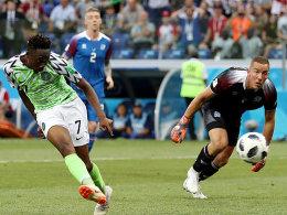 Musa entzaubert Island: Nigeria feiert Sieg