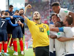 Diese Teams stehen im WM-Achtelfinale
