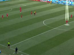 Panama scheitert mit Blitz-Anstoß gegen England