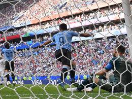 Suarez und Cavani laufen heiß: Uruguay ist Erster!