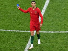 Ronaldos fünffacher Frust