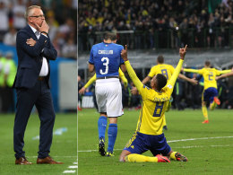 Druck? Italien-Erfahrung macht Schweden Mut