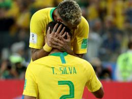Thiago Silva und Neymar vereint - Caipirinha für Tite