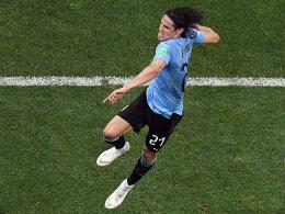 Doppelpack Cavani! Uruguay schlägt Portugal 2:1