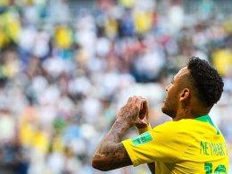 Matchwinner Neymar: Brasilien im Viertelfinale