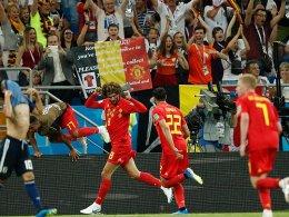 3:2 nach 0:2: Belgien nach spätem Drama im Viertelfinale