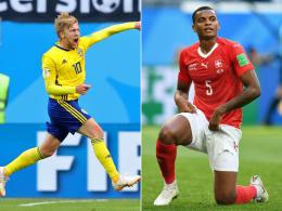 Forsberg dankt Akanji: Schweden im Viertelfinale!