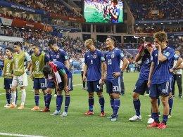 Saubermänner: Japan verlässt Kabine blitzeblank