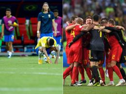 Brasilien überraschend raus! Belgien im Halbfinale
