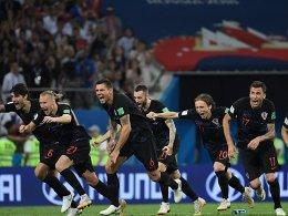 Russland raus: Kroatien siegt im Elfmeterschießen