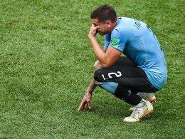 Tränen noch auf dem Feld: Uruguay dankt und trauert