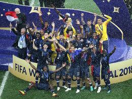 Verrücktes Finale: Frankreich ist zum zweiten Mal Weltmeister!
